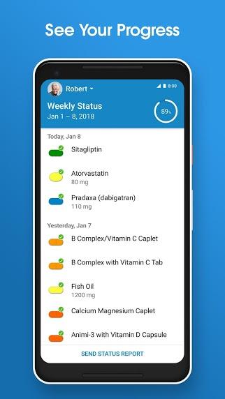 دانلود MediSafe Meds & Pill Reminder 9.16.10982  نرم افزار یادآوری زمان مصرف دارو اندروید
