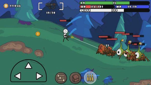 دانلود One Gun: Stickman 2.5 بازی اکشن و کم حجم استیکمن تیرانداز اندروید + مود