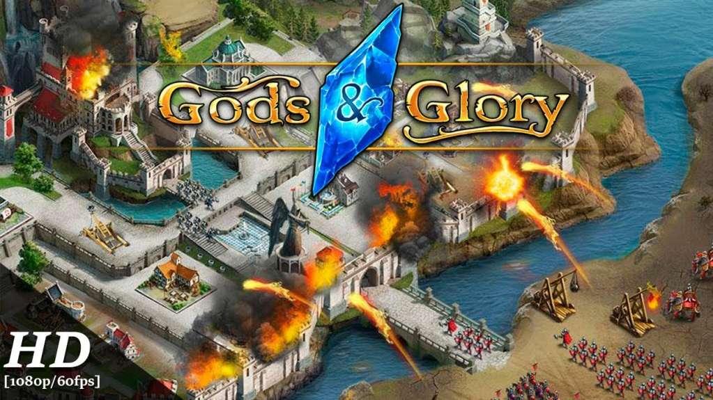 دانلود Gods and Glory 4.0.1.0 بازی افتخار خدایان اندروید + دیتا