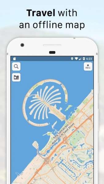 دانلود Galileo Offline Maps 4.8.4 نقشه آفلاین اندروید