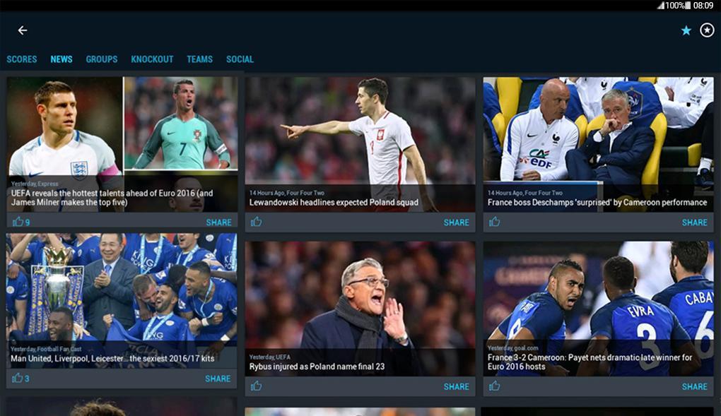 دانلود ۳۶۵Scores: Sports Scores Live 6.7.8 برنامه فوق العاده نتایج مسابقات ورزشی اندروید