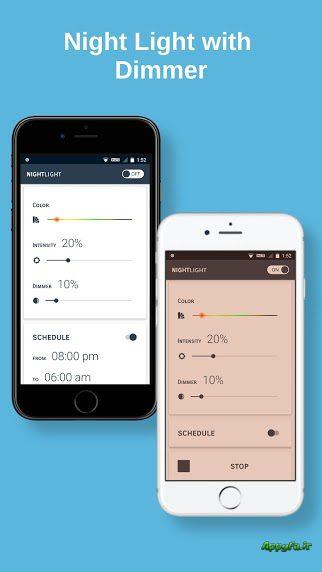 دانلود Night Light Pro: Blue Light Filter, Night Mode 2.2 برنامه فیلتر نور آبی صفحه نمایش دستگاه های اندروید