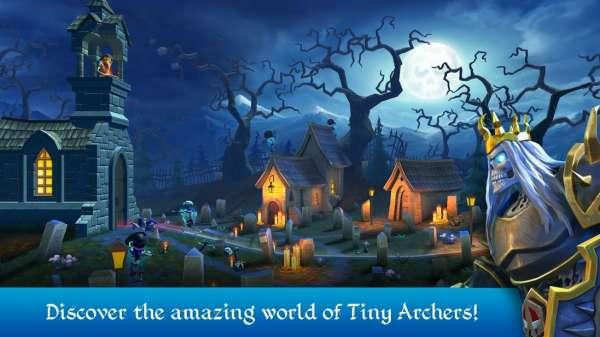 دانلود Tiny Archers 1.41.05.00300 بازی کمانداران کوچک اندروید + مود