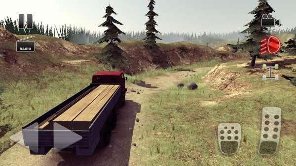 دانلود Truck Driver crazy road 2.0.13 بازی رانندگی با کامیون در جاده اندروید + مود