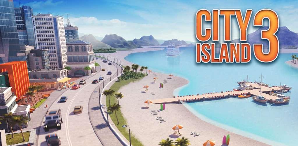 دانلود City Island 3 – Building Sim 3.0.6 بازی شهرسازی سیتی ایسلند ۳ اندروید + مود