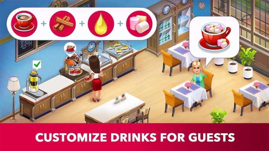 دانلود My Cafe: Recipes & Stories 2020.10.2 بازی کافی شاپ من اندروید