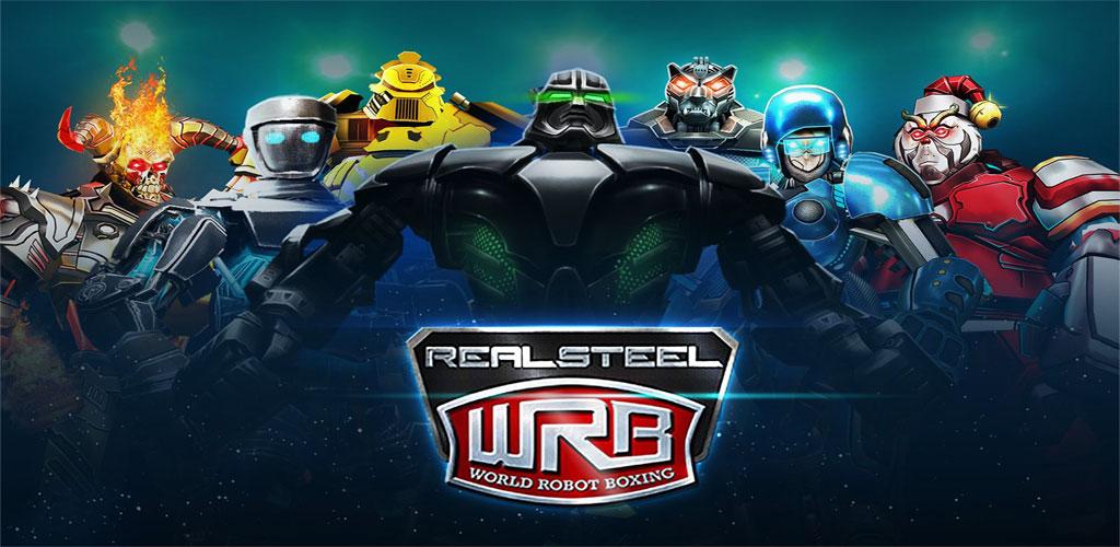 دانلود Real Steel World Robot Boxing 37.37.184 بازی مسابقه بوکس ربات ها اندروید + مود