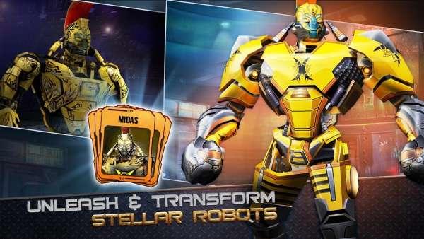 دانلود Real Steel World Robot Boxing 47.47.140 بازی مسابقه بوکس ربات ها اندروید + مود