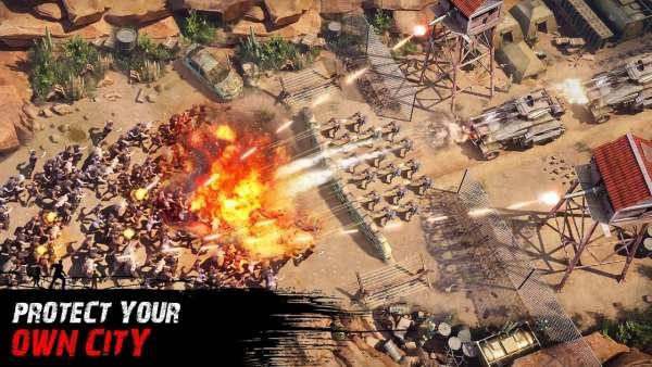 دانلود Zombie Siege 0.1.455 بازی استراژیک محاصره زامبی اندروید + دیتا