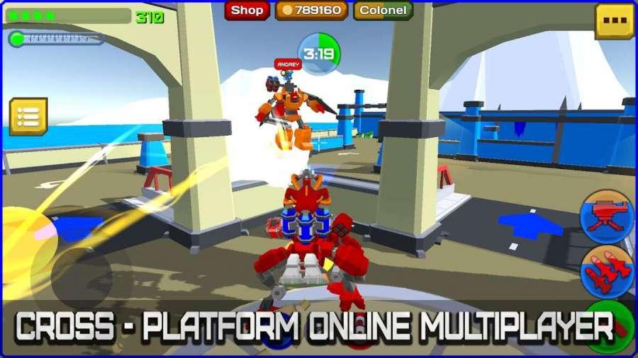 دانلود Armored Squad: Mechs vs Robots 2.3.9 بازی سلاح زرهی ربات ها + مود