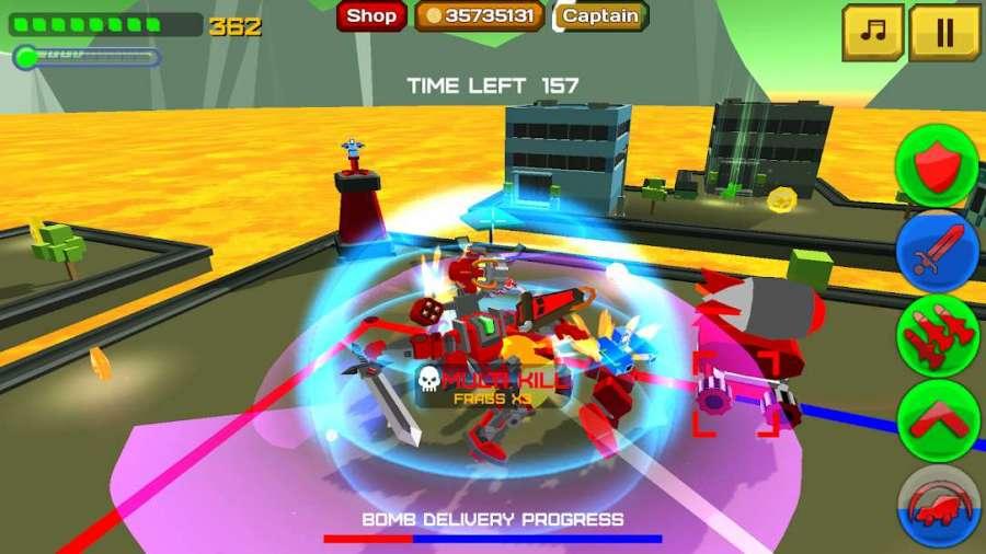 دانلود Armored Squad: Mechs vs Robots 2.1.3 بازی سلاح زرهی ربات ها + مود