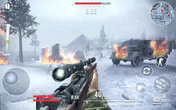 دانلود Call of Sniper WW2: Final Battleground 3.3.9 بازی تک تیر انداز جنگ جهانی دوم آخرین نبرد اندروید + مود