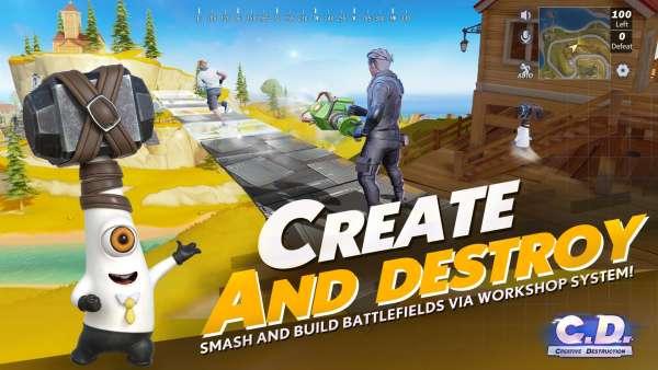 دانلود Creative Destruction 2.0.4641 بازی فوق العاده تخریب خلاقانه اندروید + دیتا