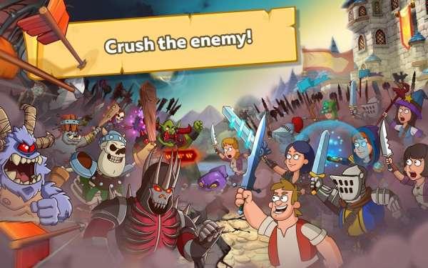 دانلود Hustle Castle Fantasy Kingdom 1.44.0 بازی نقش آفرینی امپراطوری رویایی مخصوص اندروید