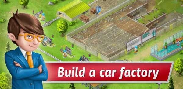 دانلود Idle Car Factory 14.0.2 بازی شبیه ساز کارخانه ماشین سازی اندروید + مود