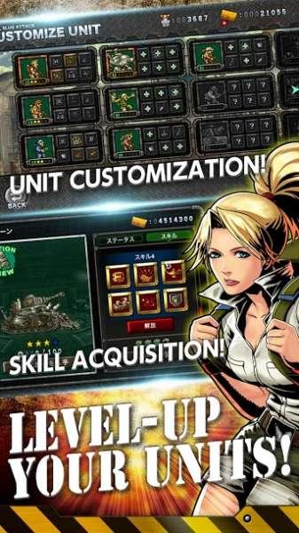 دانلود METAL SLUG ATTACK 6.13.0 بازی حمله سرباز کوچک فلزی اندروید + مود