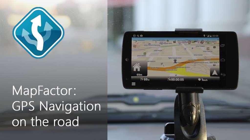 دانلود MapFactor GPS Navigation Maps 5.5.81 برنامه مسیریاب مپ فکتور اندروید