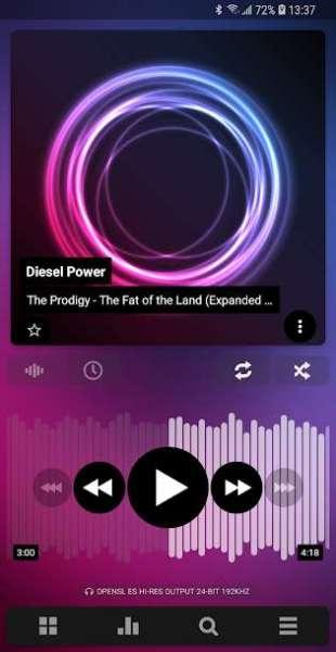 دانلود Poweramp Music Player FULL 911 موزیک پلیر پاورامپ اندروید