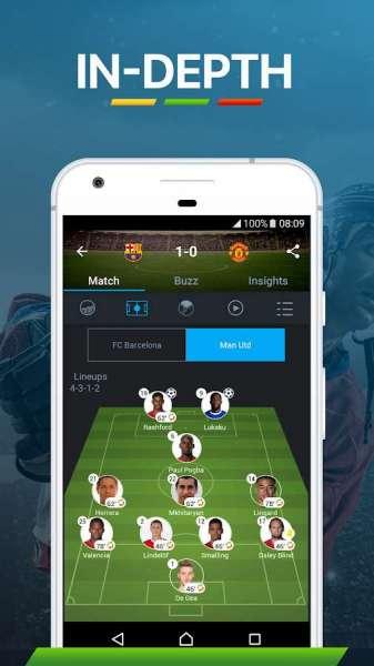 دانلود 365Scores: Sports Scores Live 9.0.9 برنامه فوق العاده نتایج مسابقات ورزشی اندروید