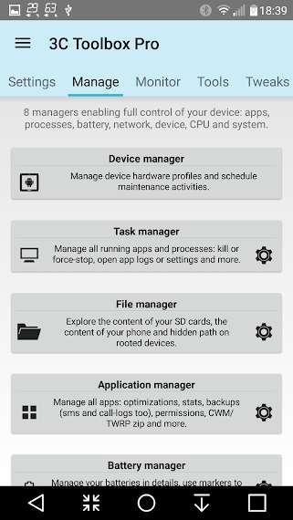 دانلود ۳C Toolbox Pro 2.4.0n جعبه ابزار حرفه ای کاربردی اندروید
