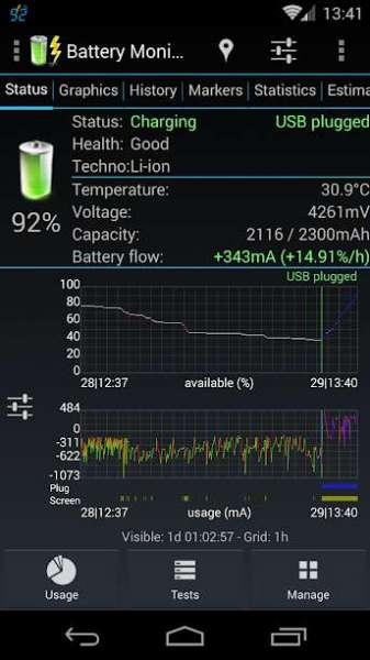 دانلود 3C Battery Monitor Widget Pro 4.4.4a برنامه مانیتوریگ وضعیت باتری اندروید
