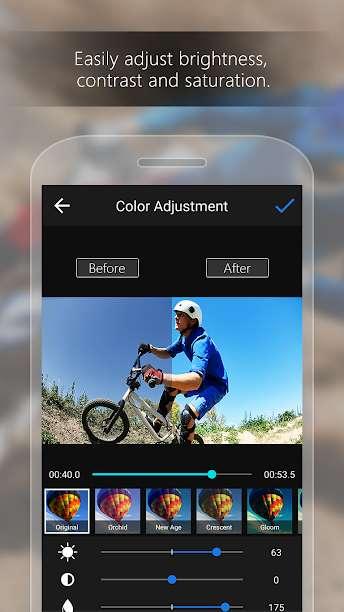 دانلود ActionDirector Video Editor 6.8.1 نرم افزار ویرایش ویدئو اندروید