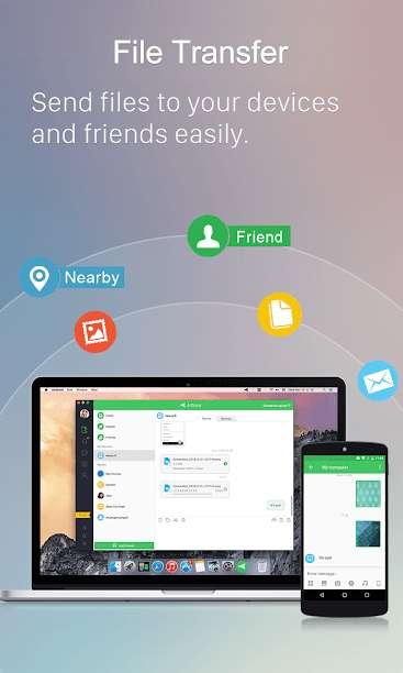 دانلود AirDroid 4.2.9.3 برنامه مدیریت اندروید از طریق اینترنت + ویندوز