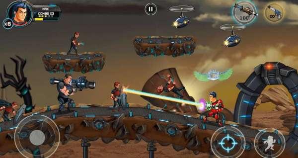 دانلود Alpha Guns 2 9.8.1 بازی اسلحه های آلفا 2 اندروید + مود