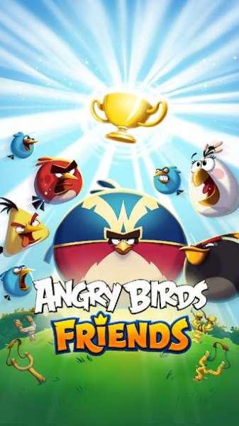 دانلود Angry Birds Friends 9.8.1 بازی دوستان پرندگان خشمگین اندروید