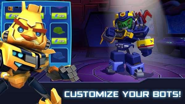 دانلود Angry Birds Transformer 2.13.0 بازی انگری برد تبدیل شوندگان اندروید + مود + دیتا