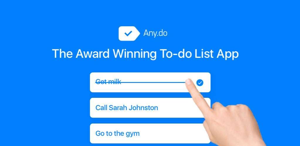 دانلود Any.do: To-do list Calendar Reminders 4.16.1.6 نرم افزار یادآوری قرارها و کارها