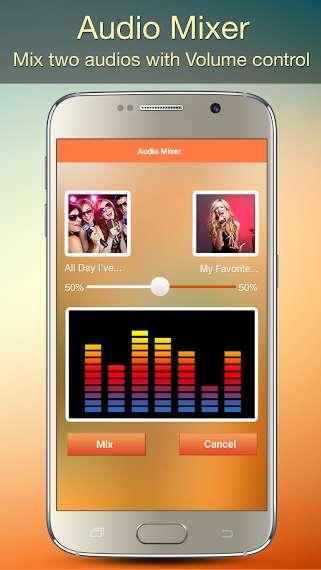 دانلود Audio MP3 Cutter 1.86 اپلیکیشن حرفه ای ویرایش آهنگ اندروید