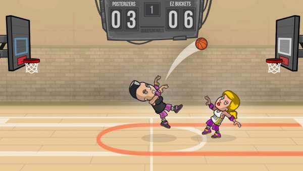 دانلود Basketball Battle 2.2.16 بازی نبرد بسکتبال اندروید + مود