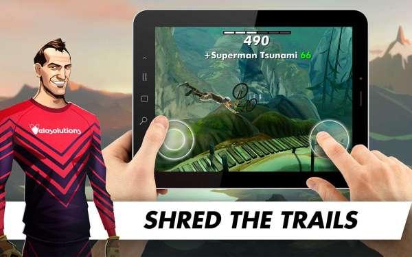 دانلود Bike Unchained 1.195 بازی زیبای دوچرخه سواری آزاد اندروید + مود + دیتا