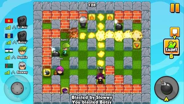 دانلود Bomber Friends 4.22 بازی دوستان بمب افکن اندروید + مود