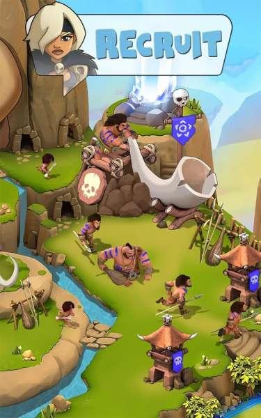 دانلود Brutal Age Horde Invasion 1.0.10 بازی استراتژی حمله بربرها مخصوص اندروید