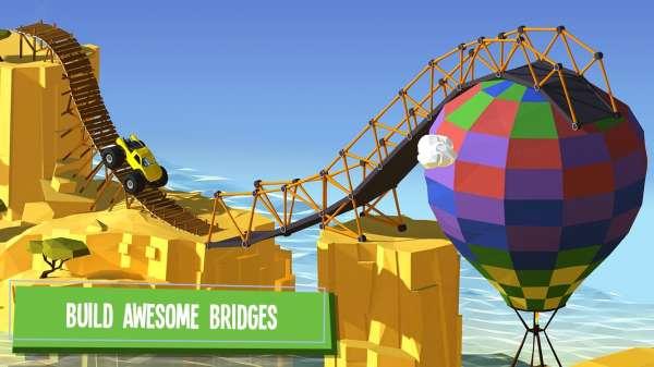 دانلود Build a Bridge 4.1.0 بازی فوق العاده ساخت پل اندروید + مود