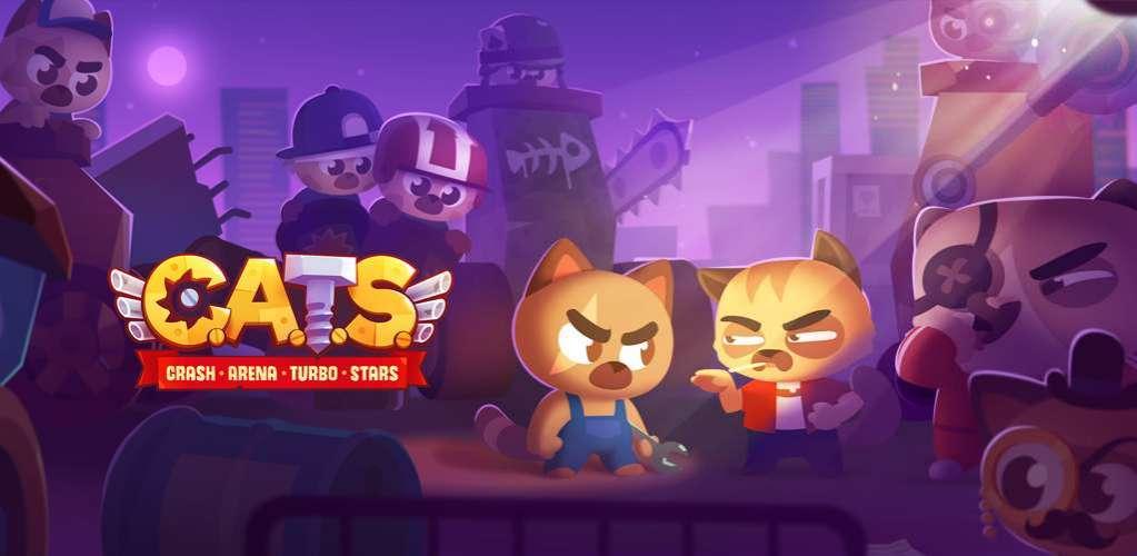 دانلود CATS: Crash Arena Turbo Stars 2.21.1 بازی اکشن نبرد میان گربه ها اندروید