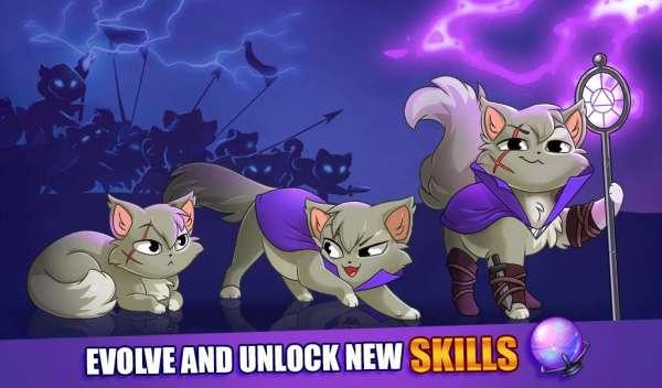 دانلود Castle Cats Epic Story Quests 3.0.3 بازی ماجراجویی قلعه گربه های اندروید + مود