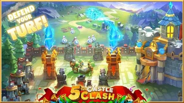 دانلود Castle Clash 1.9.31 بهترین بازی استراتژیکی برای اندروید