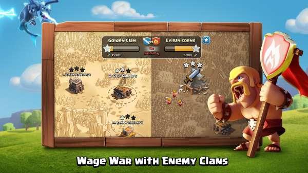 دانلود Clash of Clans 14.0.7 بازی آنلاین جنگ قبیله ها اندروید