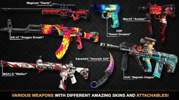 دانلود Counter Attack Team 3D Shooter 1.2.42 بازی اندروید کانتر استریک + مود + دیتا