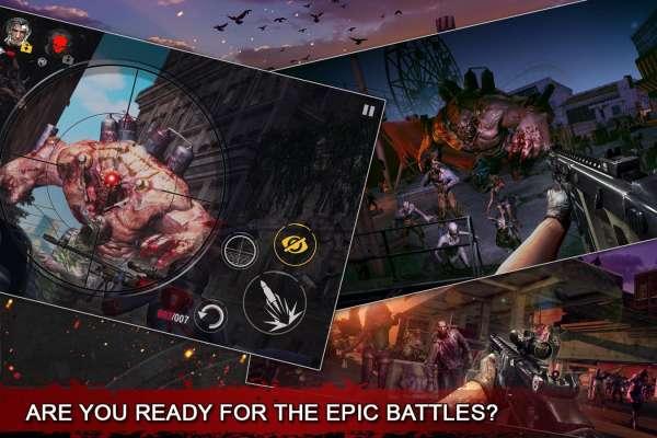 دانلود DEAD WARFARE: Zombie 2.17.20 بازی نبرد با زامبی ها خونخوار اندروید + مود + دیتا