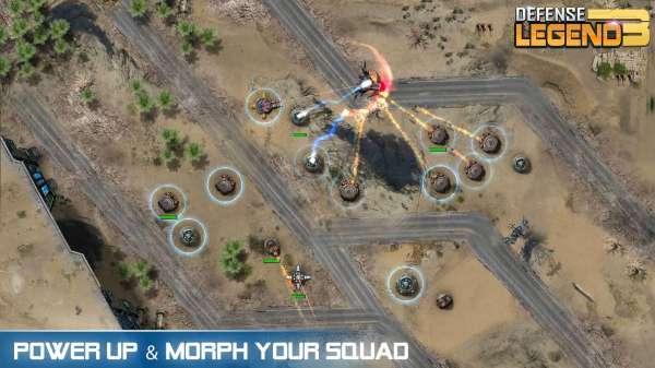 دانلود Defense Legend 3: Future War 2.7.3 بازی افسانه دفاع 3 جنگ های آینده اندروید + مود