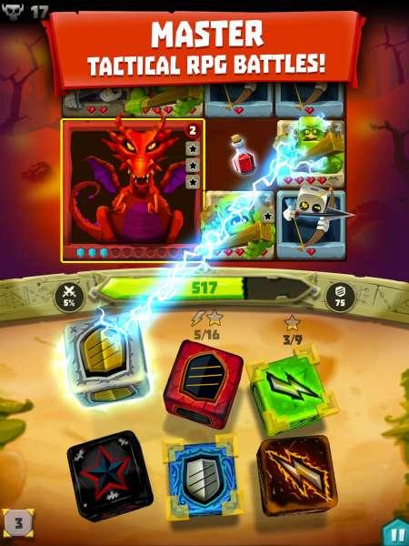 دانلود Dice Hunter: Dicemancer Quest 5.1.2 بازی جالب داستان های تاس شکارچی اندروید + مود