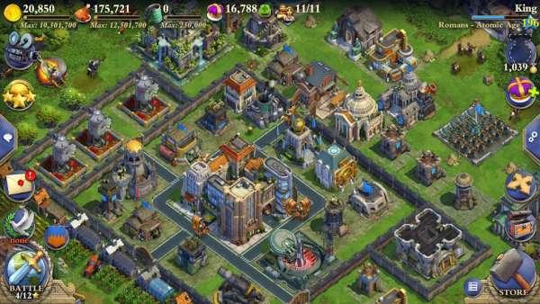 دانلود DomiNations 9.970.970 بازی استراتژی سلطنت اندروید + نسخه آسیا