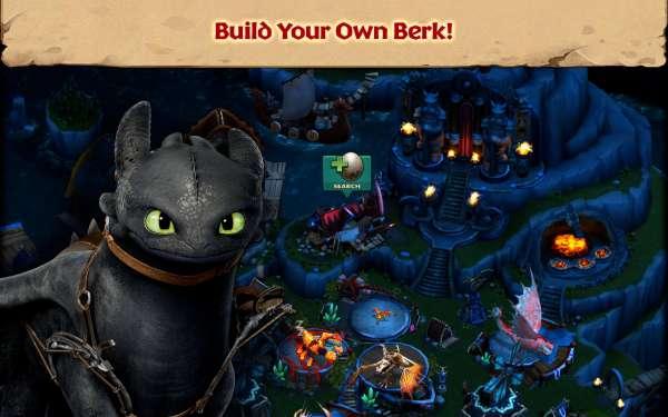 دانلود Dragons: Rise of Berk 1.50.20 بازی اژدهایان ظهور برک اندروید + مود