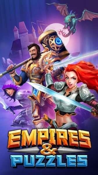 دانلود Empires & Puzzles: RPG Quest 41.0.2 بازی نقش آفرینی امپراطوری ها و پازل ها اندروید