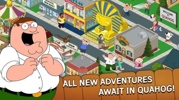 دانلود Family Guy The Quest for Stuff 4.0.6 بازی کمدی و جذاب مرد خانواده اندروید + مود