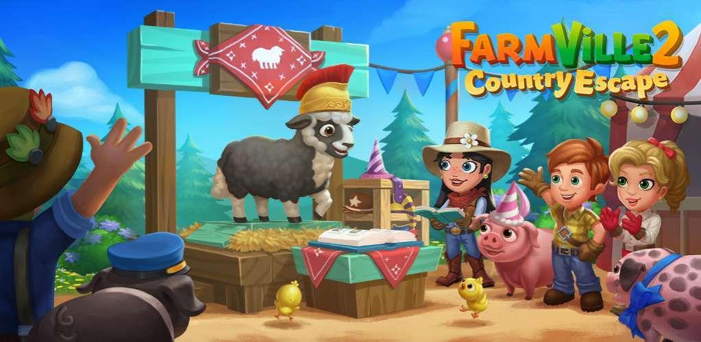 دانلود FarmVille 2 Country Escape 14.0.4977 بازی مزرعه داری فرار از شهر اندروید + مود